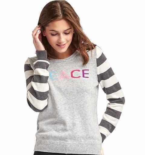 Gap's pullover sweater for girls