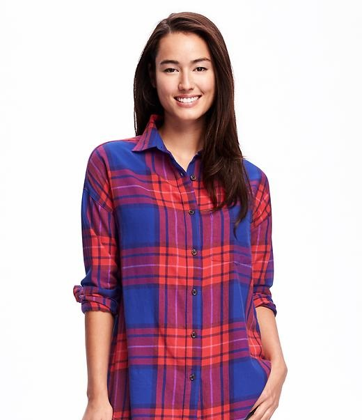 Old Navy flannel panel shirt for winters