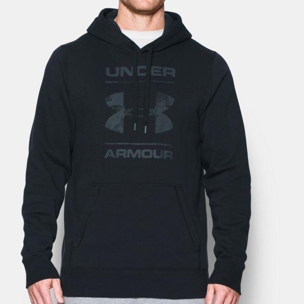 Under Armour rival fleece logo sports shirt