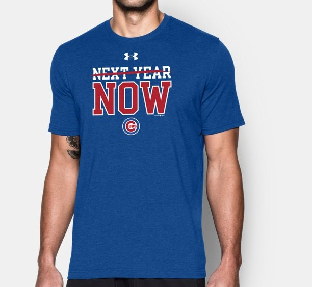 chicago cubs NY shirt by Under Armour