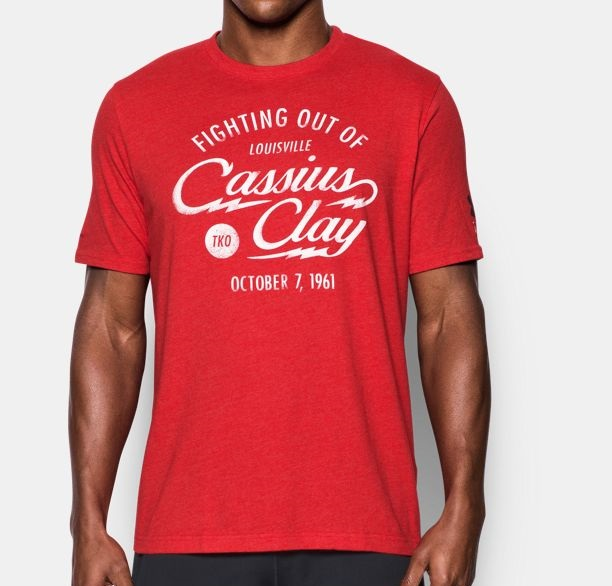 muhammad Ali cassius bout red shirt for winters