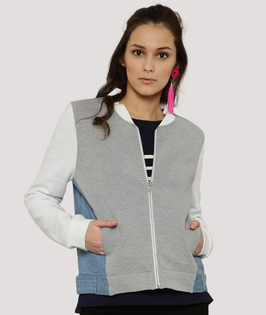 Koovs Winter fleece jacket for autumn