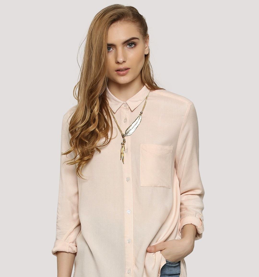 koovs RTW Collar shirt for winters