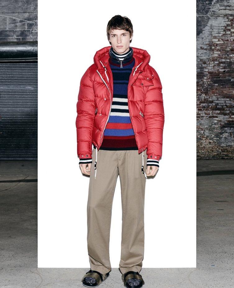 Moncler winter crew neck jacket
