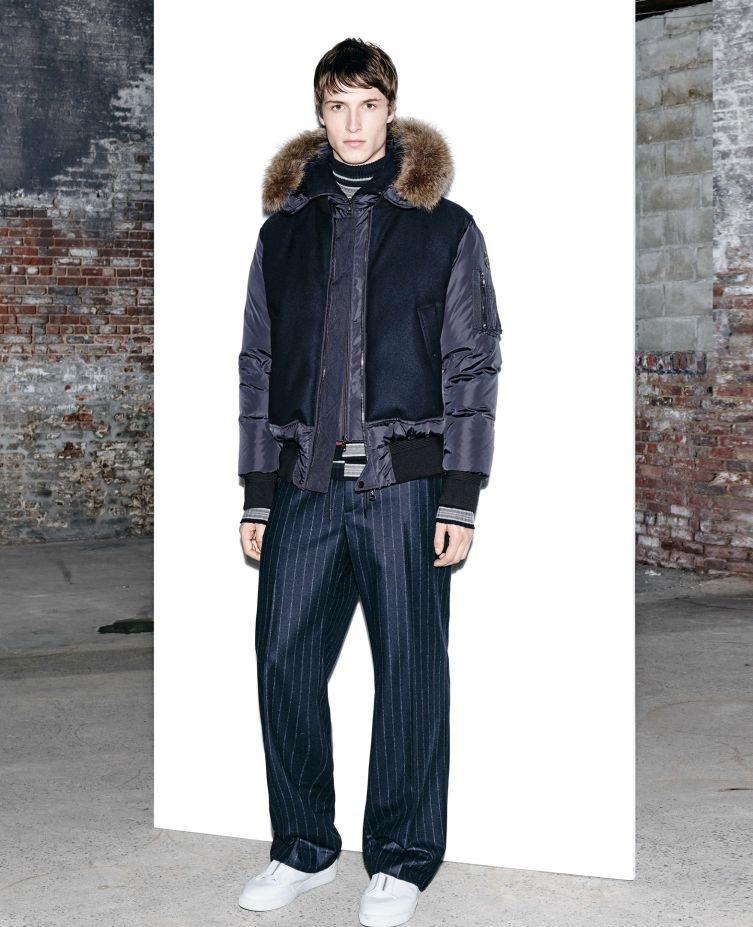 Moncler comfy fur jacket for winter