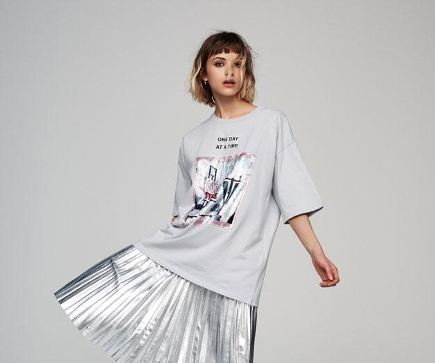 valvet patch winter t-shirt