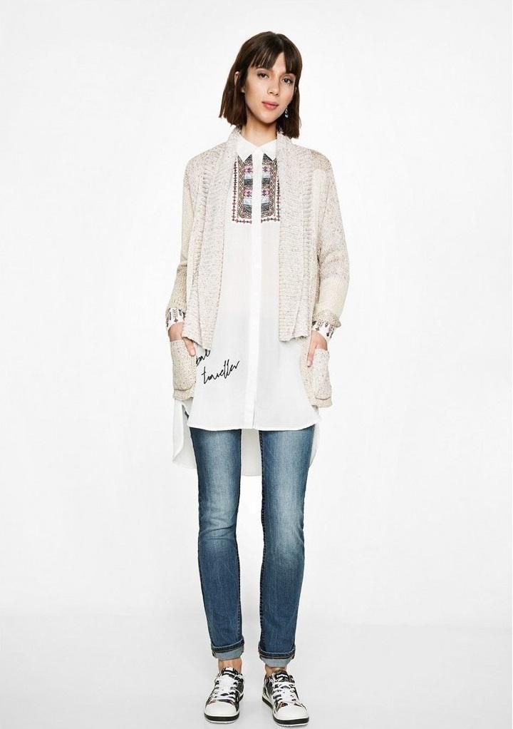 Desigaul Winter shirt Ginebra for girls