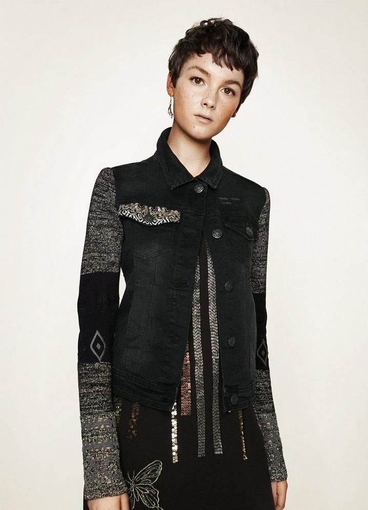 Desigaul Winter Waist length jacket for gilrs