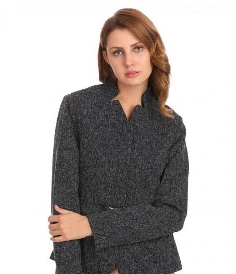 Madame Autumn Winter grey mini sweater