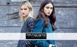 Madame Exclusive Autumn Winter Dress Designs 2017 for Ladies