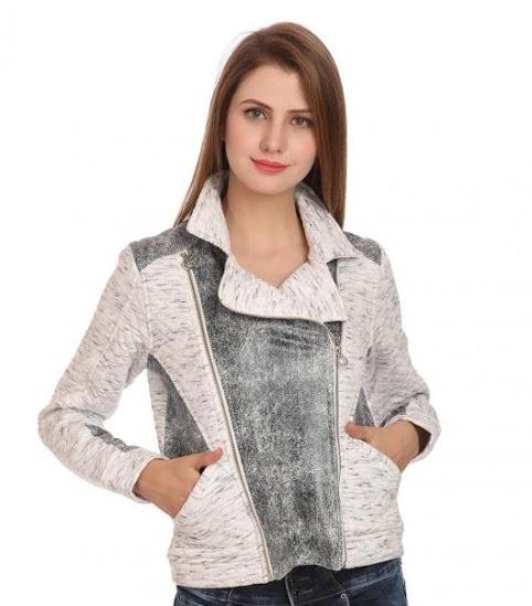 Madame mini white jacket for ladies