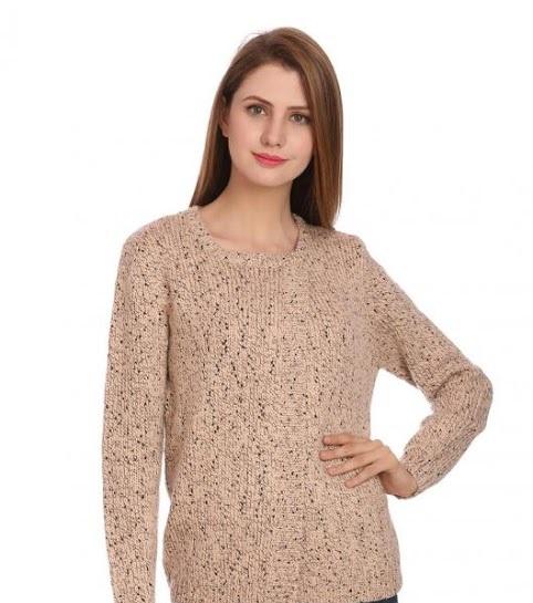 Madame skin brown knit sweater