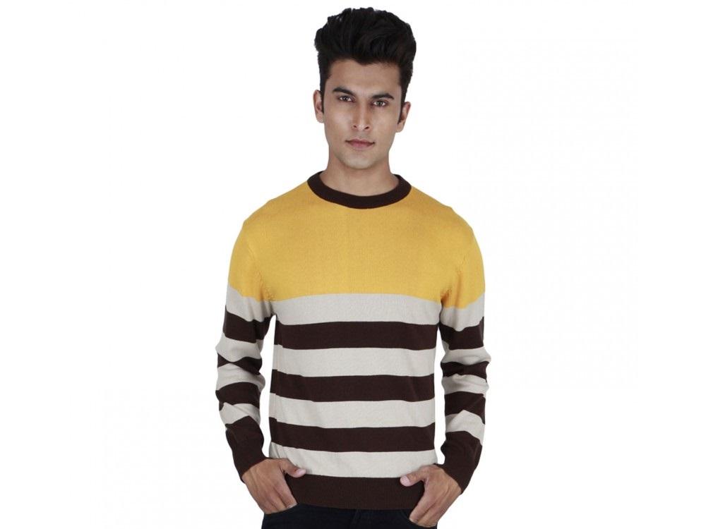 Provogue Nautical round winter sweater for boys