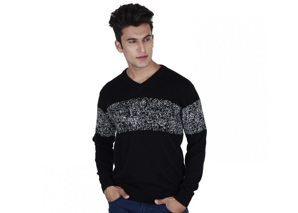 Provogue Spray casual Winter shirt in black