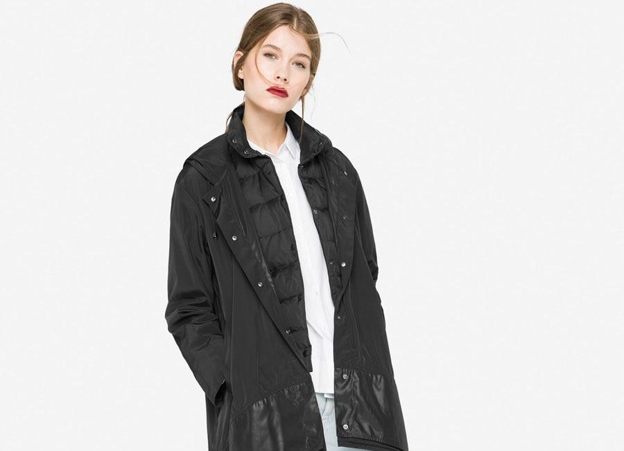 Uterque Winter Parka with detachable waistcoat