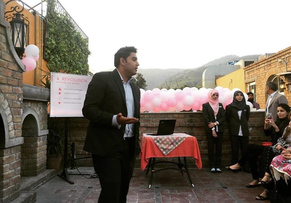 Mr. Siddiq Banway - Manager of Bioderma Pakistan