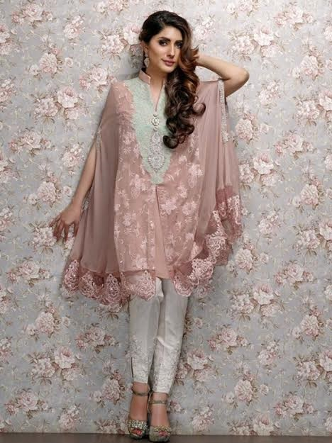 cape style evening wear stylish top