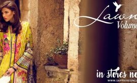 Sapphire Lawn Spring Summer Collection 2018 Catalogue with Prices