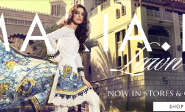 Maria.B Lawn Spring Summer 2018 Waadi Oasis Collection
