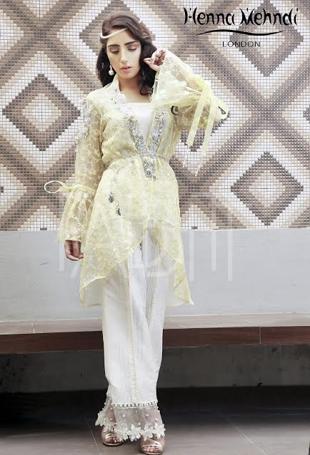 light yellow Front Open Chiffon Waist Belt Dress for parties