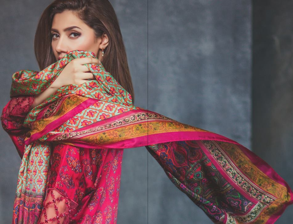 Mahira Khan in the Alkaram Festival Collection 2017 Photoshoot