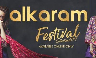 Alkaram Festival Collection 2017-2018