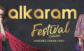 Alkaram Festival Collection featuring Mahira Khan & Alyzeh Gabol