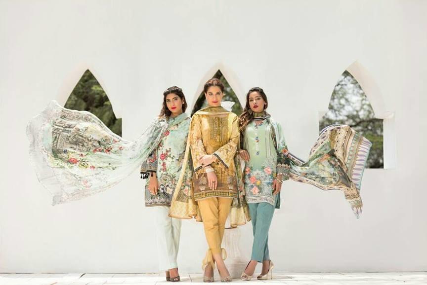 Firdous Fashion Eid Dresses 2017-2018 Designs