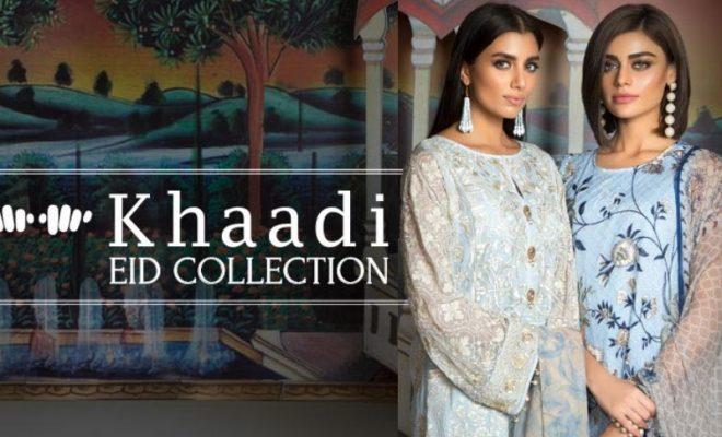 Khaadi Eid Dresses 2017-2018 Collection