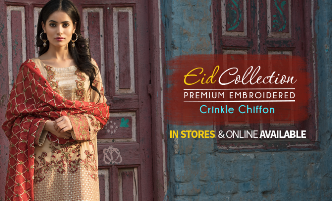 Motifz Premium Embroidered Eid Collection 2017 with Prices