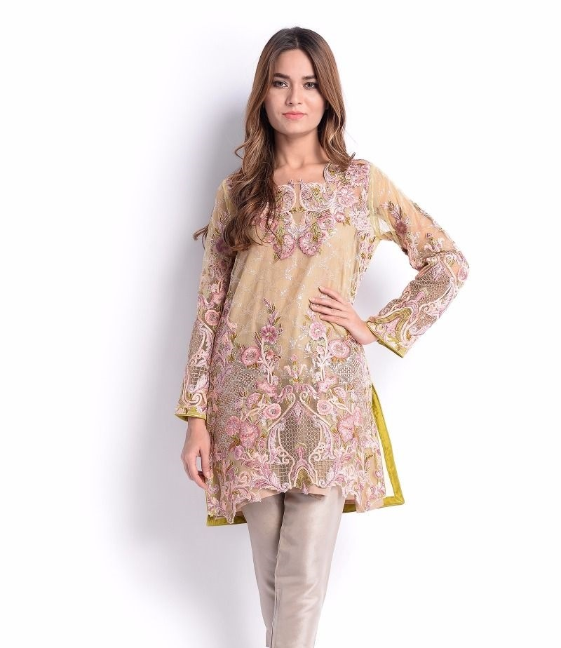 Sana Safinaz Formal Eid Dress with thread embroidery, sequins and Twill