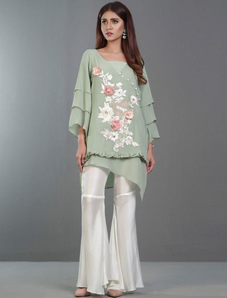 Zainab Chottani Formal Eid Dresses 2017-2018 (10)
