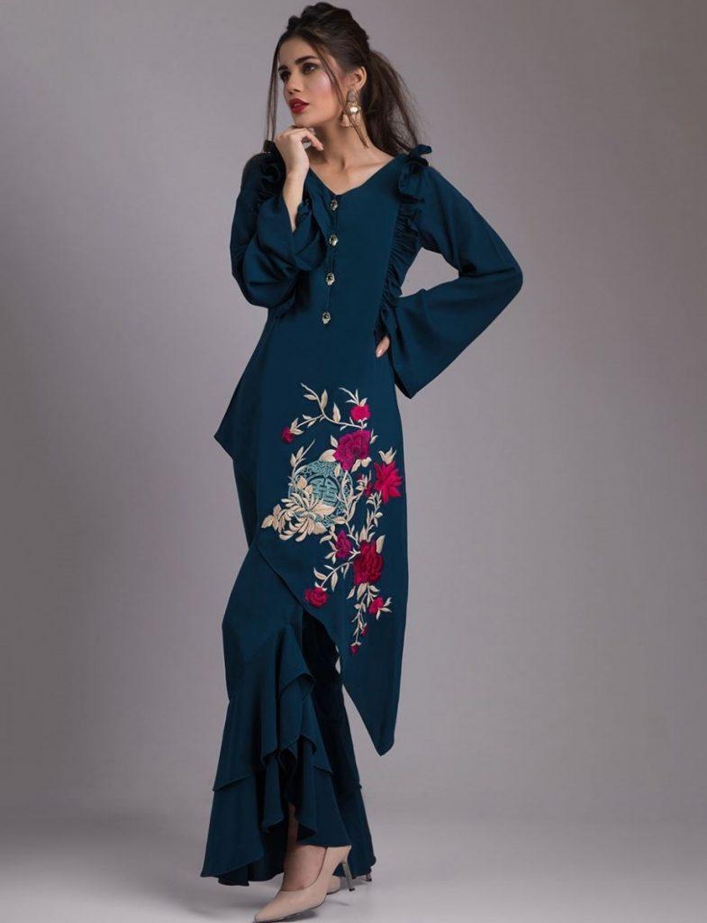 Zainab Chottani Formal Eid Dresses 2017-2018 (3)
