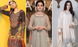 Latest Branded and Designer Eid Al-Azha Dresses 2017 Collections