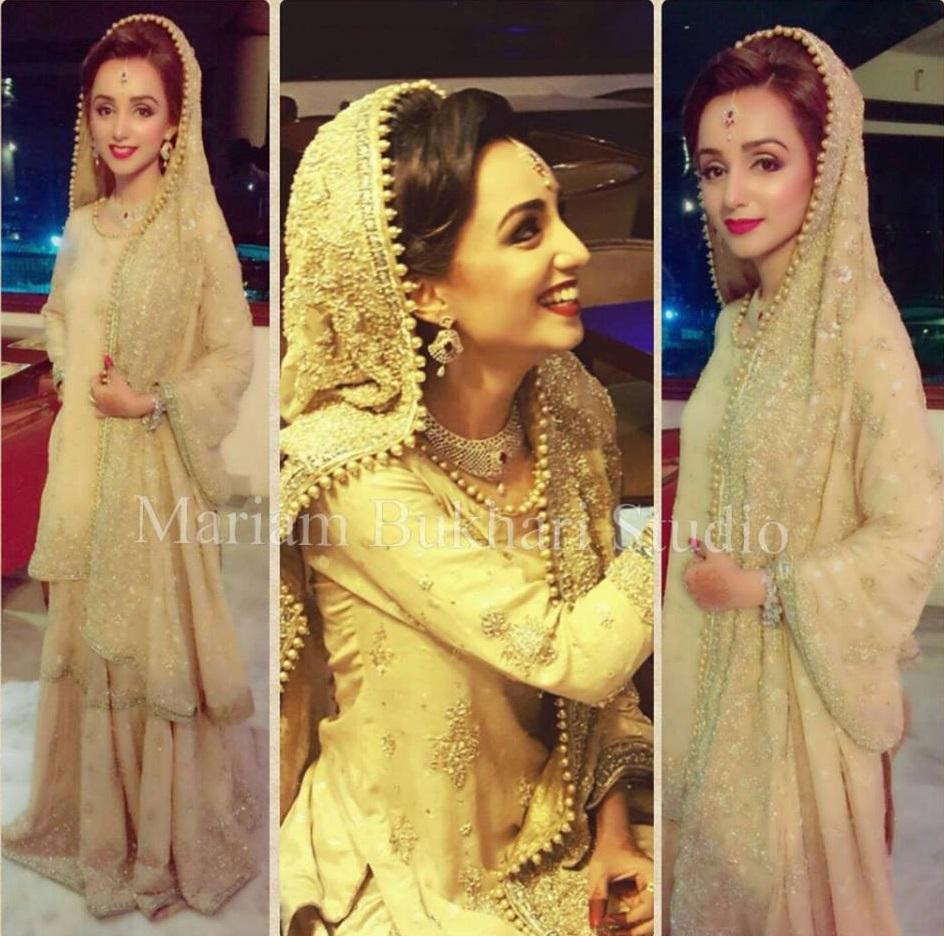 Mariam Bukhari Bridal Wear