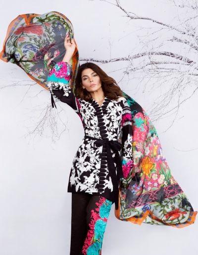 Sana Safinaz multi-colored eid outfit