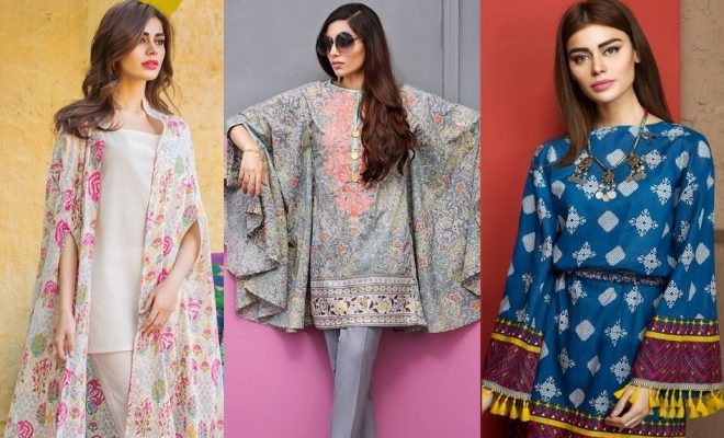 Stitching Styles 2018 for Pakistani Dresses for Ladies