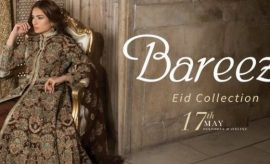 Bareeze New Festive Eid Embroidered Collection 2018 Catalogue