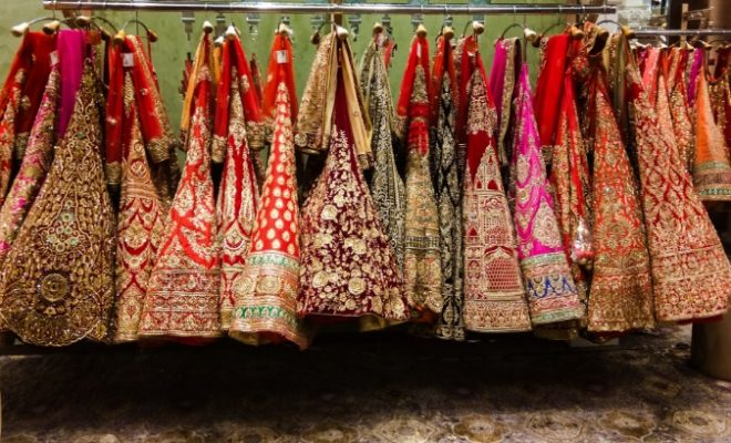 Buying a bridal lehenga