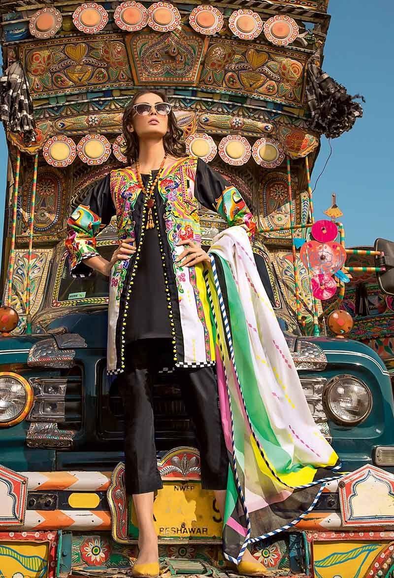 Truck Art Digital Two-Piece Lawn Suit TL-196