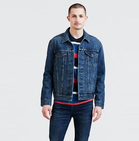 Denim jackets trend