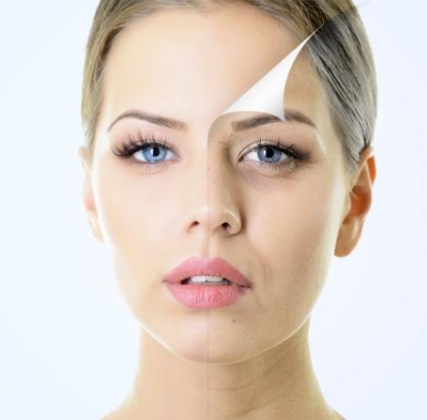 Fixing damaged skin