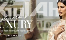 A Traditional Ode – Gul Ahmed's Glamorous Luxury Eid Collection 2019