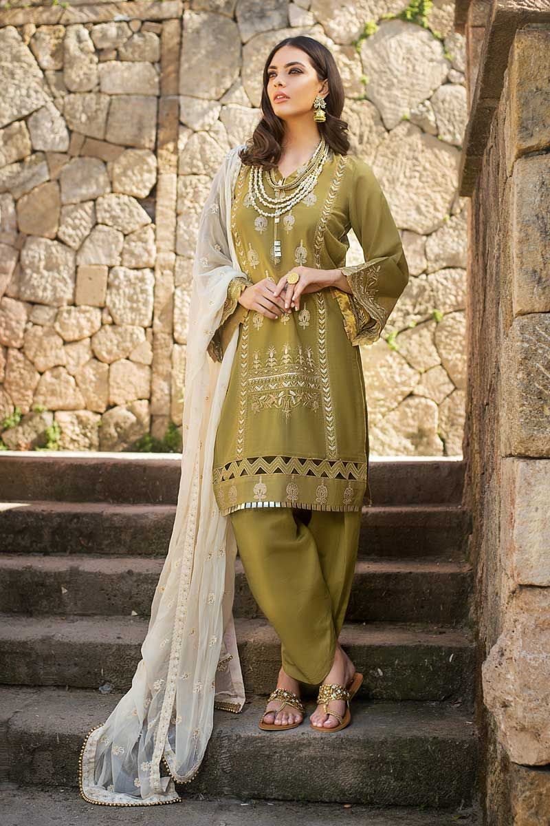 Gul Ahmed glamorous luxury Eid collection
