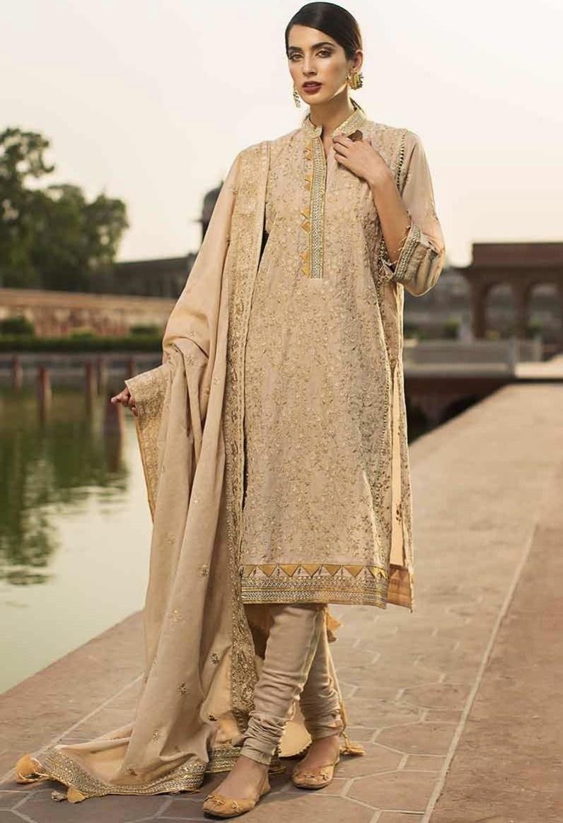 Gul Ahmed fancy Eid suit